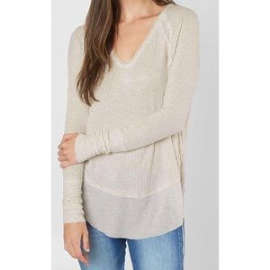 NWT Free People Catalina Thermal Tee